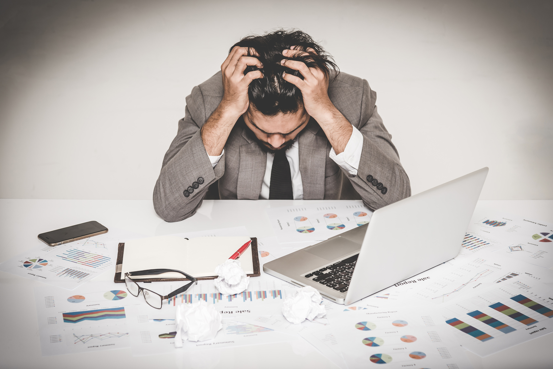 Almost 34% Accountants are Suffering from Poor Mental Health. Here's how to fix it