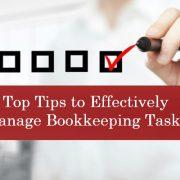 Bookkeeping Tasks